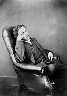 Photograph of author and mathematician Lewis Carroll.