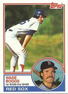 Wade Boggs Rookie Card