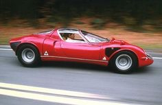 Alfa Romeo 33 Stradale. In my opinion, the most beautiful car ever created