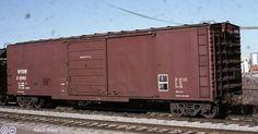 NYSW, New York Suqehanna & Western 50' Single Door Boxcar, 22082 March 16th, 1987, Toronto, Ontario