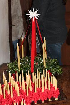 Moravian Advent wreath