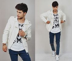 Ayoub Mani - Jacket Cndirect, Top Wholesale, Watched Headupwatch, Braclet Wosmock, Jeans Wholesale7, Shoes - IN PARADISE THERE IS LOVE WITHOUT SEPARATION