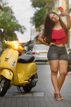 Sandani Fernando️ 'Vespa Ad girl' more photos