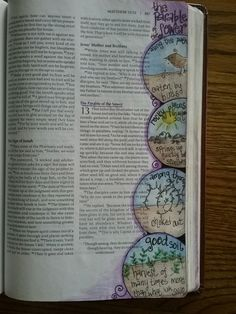 Parable of the Sower... Matthew 13... adapted idea from Pinterest