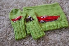 Onnea rakas (melkein) kolmevuotias Salama McQueen-fani! Satunnaisesti puikoilla - käsityöblogi. #neulonta