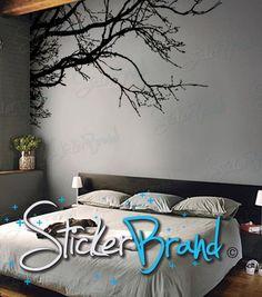 Beautiful vinyl tree wall art.