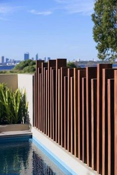 Diy Privacy Fence, Privacy Fence Designs, Backyard Privacy, Diy Fence, Pool Fence, Backyard Fences, Backyard Landscaping, Fence Ideas, Backyard Designs