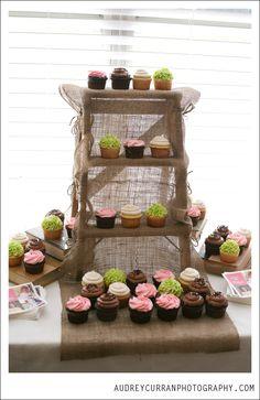 cupcakes, cupcake display