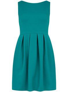 Lovely green prom dress