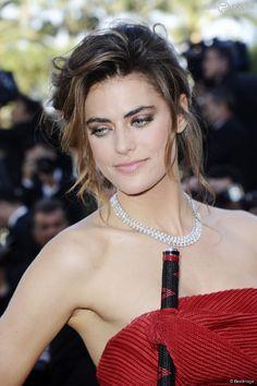 """Alyson Le Borges (fille de Anthony Delon) - Montée des marches du film """"Blood Ties"""" lors du 66e Festival du film de Cannes. Le 20 mai 2013."""