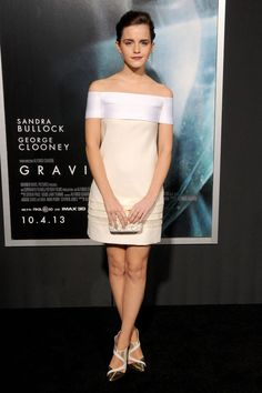 Emma Watson Picture 226 - New York Premiere of Gravity - Arrivals Alex Watson, Lucy Watson, White Dresses For Women, Nice Dresses, Hermione, Emma Watson Sexiest, Actress Jessica, Love Her Style, Celebrity Gossip