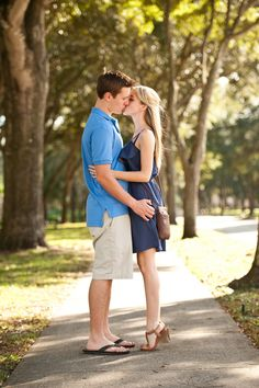 Simple and adorable engagement picture.