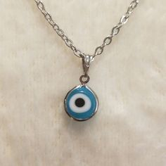Evil eye Necklace on Mercari Evil Eye Jewelry, Evil Eye Necklace, Cute Jewelry, Jewlery, Surfer Style, Indie Style, Indie Fashion, Croissants, Precious Metals