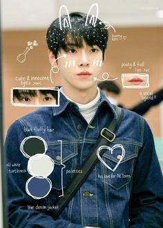 """""""here my anatomy of kim doyoung uwu"""" Nct Doyoung, Exo Red Velvet, Nct Life, Nct 127, Nct Dream, Fluffy Hair, To My Future Husband, Jaehyun, Boy Groups"""