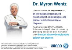 Myron Wentz founded Health in 1992 to create and manufacture True Health, Health Tips, Health And Wellness, Usana Vitamins, Intense Ab Workout, Wellness Industry, Bodybuilding Supplements, Healthy Lifestyle Tips, Natural Supplements