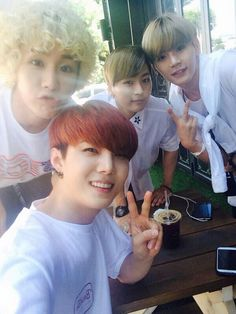 wizards line #b-joo #hojoon #hansol #xero #toppdogg #selca #twitterupdate