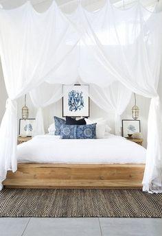 Coastal Beach Bedroom (1)