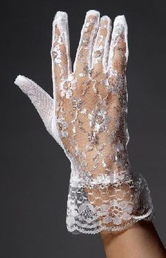 White gloves?