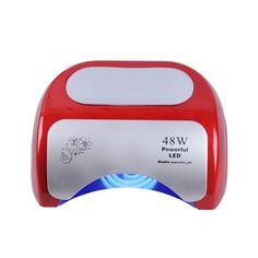 Professional 48W CCFL LED UV Lamp Nail Dryer For Nail Gel Polish Curing Nails Lamp Dryers. Click visit to buy #Nail #Tool #NailTool