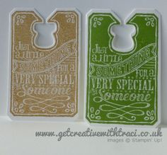 Chalk Talk Tags to go with the Chevron Chalk Talk Cards by Independent Stampin' Up! Demonstrator Traci Cornelius of www.getcreativewithtraci.co.uk