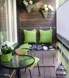 Это потрясающе: самые уютные идеи для балконов / Домоседы