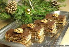 Vékony lapos zserbó Holiday Dinner, Winter Holidays, Tiramisu, Good Food, Menu, Ethnic Recipes, Autumn, Foods, Menu Board Design