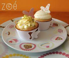 Domingo foi dia de chá na Casa da Figueira. Do lindo jardim, vieram borboletas que pousaram nos #cupcakes de Tortinha de Limão e Romeu & Julieta!