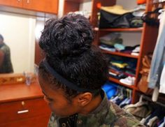 Bun So Hard. (How to Get a Big Bun with Fine Hair)   Curly Nikki   Natural Hair Styles and Natural Hair Care
