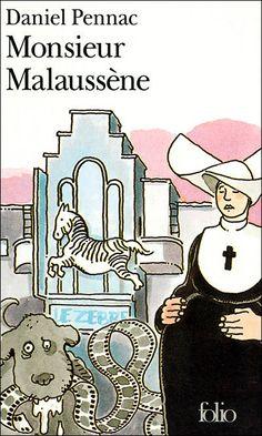 """""""Monsieur Malaussène"""" de Daniel Pennac Ma note: 4/5"""