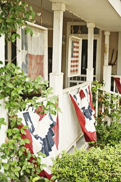A beautiful front porch for summer! -- The Pennington Point