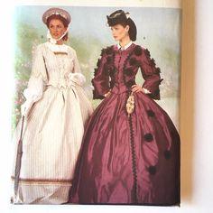 Posh Victorian Girls Fancy Dress Edwardian Book Week Scarlet O Hara Costume 4-12