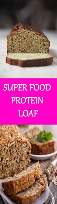 SUPER FOOD PROTEIN LOAF