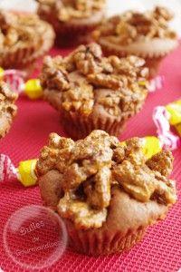 Brownies crunchy sauce carambar (ou au sirop d'érable http://www.papabosseetmamancuit.com/brownies-crunch-au-sirop-derable/)