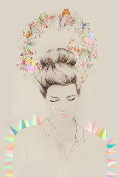 art / portrait / by MARIA WASIK