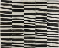 "Ellsworth Kelly  American, born 1923, Study for ""Cité"": Brushstrokes Cut into Twenty Squares and Arranged by Chance"