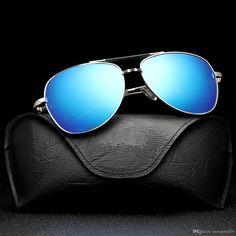 622b433d049 Metal Man Fashion Sunglasses Goggle Full Frame Uv400 Eyeglasses  Antireflection Driving Sunglasses High Quality Beach Sunglasses