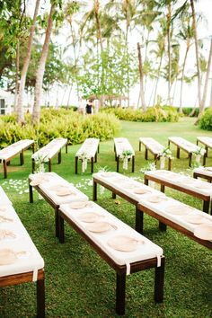Beautifully Detailed Hawaii Wedding from Josh Elliott Photography - wedding ceremony idea