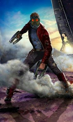 Star Lord-Gardian of the Galaxy- Marvel