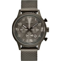 GANT GT010003 Rolex Watches, Watches For Men, Stainless Steel Types, Watch Faces, Michael Kors Watch, Chronograph, Latest Fashion, Pet Supplies, Quartz