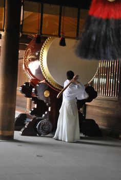 Taiko (Japanese drum) at Japanese Temple. temple, shrine, torii, gate, buddism, buddha, the real japan, real japan, japan, japanese, guide, tips, resource, tips, tricks, information, guide, community, adventure, explore, trip, tour, vacation, holiday, planning, travel, tourist, tourism, backpack, hiking http://www.therealjapan.com/subscribe
