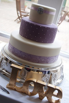 Start your own Wedding Cake Business! http://cakestyle.tv/products/wedding-cake-busines-serie/?ap_id=weddingcake - Lilac #WeddingCake