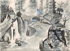 Japanese Brush Painting - Google Search