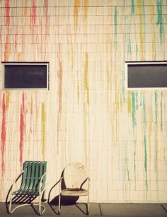 Palm Springs Painted Wall // Aida Mollenkamp