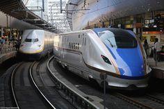 Every Railroad Enthusiast's Dream Come True! Electric Locomotive, Diesel Locomotive, Giant Truck, Japan Train, Rail Train, Future Transportation, High Speed Rail, Electric Train, Speed Training