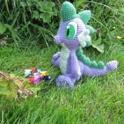 Spike the Dragon - via @Craftsy