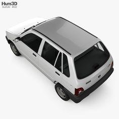 model of Suzuki (Maruti) 800 1986 Maruti Suzuki 800, Maruti 800, Rajendra Prasad, Stl File Format, Car Images, Car Engine, Super Cars, 3d, Vehicles