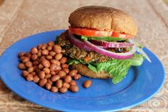 CUBAN BLACK BEAN BURGERS: These veggie burgers are made with plantain ...