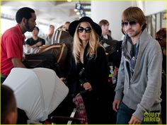 Rachel Zoe holds her adorable son Skyler at LAX Airport on Thursday (October 6) in Los Angeles