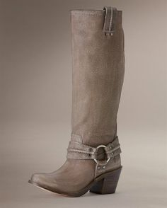 Frye Carmen Tall Boots .. Not usually my style.. but wow, I can imagine these with skinny jeans.