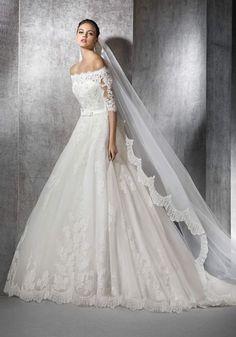 Wedding Dress Outlet, Lace Wedding Dress, 2016 Wedding Dresses, Gorgeous Wedding Dress, Wedding Dresses Plus Size, Designer Wedding Dresses, Bridal Dresses, Wedding Gowns, San Patrick